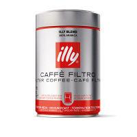 【コーヒー粉】イリー(illy) フィルター ミディアムロースト 1セット(250g×2缶)
