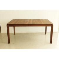 東馬(Tohma) blues 伸長式ダイニングテーブル ブラウン 幅1500~1800×奥行900×高さ700mm 1台 (直送品)
