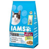 IAMS(アイムス) キャットフード 成猫用 下部尿路とお口の健康維持 チキン 1.5kg 1個 マースジャパン