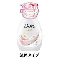 ダヴ(Dove) ボディウォッシュ(ボディソープ) ハーモニー ピーチ&スイートピー ポンプ 500g ユニリーバ