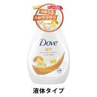 ダヴ(Dove) ボディウォッシュ(ボディソープ) スプラッシュ オレンジ&ティアフラワー ポンプ 500g ユニリーバ