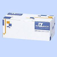 NSアルファマスクブルー ブルー 3層式 1箱(50枚入) 日昭産業 日本製