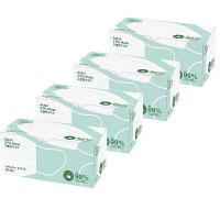 3層式マスク レギュラーサイズ 50枚入 1セット(4箱) アスクル