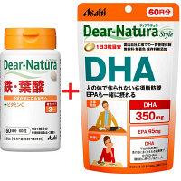 DNセット(鉄・葉酸+DHA)
