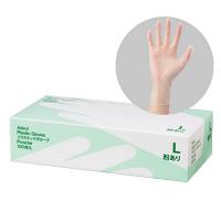 アスクルビニール手袋 L 粉付き 3箱