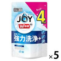 ハイウォッシュジョイ除菌 JOY 詰め替え 490g×5個 食洗機用洗剤 P&G