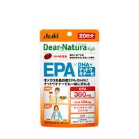 ディアナチュラ(Dear-Natura) EPA&DHA・ナットウキナーゼ 20日分(80粒入) アサヒグループ食品