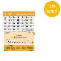トーダン 2018版 カラー2ヶ月メモ・ジャンボ(15ヶ月) TD-617 1冊
