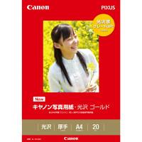 キヤノン キヤノン写真用紙 光沢ゴールド A4 GL-101A420 1冊(20枚入) (取寄品)