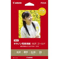 キヤノン キヤノン写真用紙 光沢ゴールド 2L GL-1012L20 1冊(20枚入) (取寄品)
