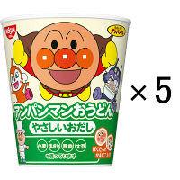 日清食品 アンパンマンおうどん 5食