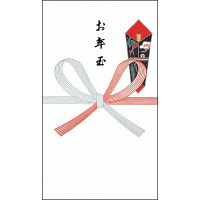 タカ印 ポチ袋 五型特上 お年玉字入り 7-105 1袋(5枚入)