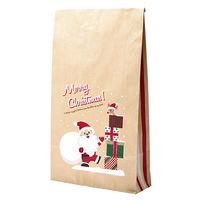 【クリスマス】 角底袋 プレゼントサンタ 大 35-5492 1包(50枚)