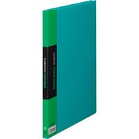クリアーファイル A4タテ20P 緑