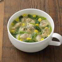 無印良品 食べるスープ あさりとコーンのクラムチャウダー 38969495 良品計画 <化学調味料不使用>