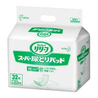 リリーフ 病院施設用 尿とりスーパー 1箱(32枚×6パック入) 業務用 大人用紙おむつ 花王