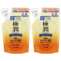 肌研(ハダラボ) 極潤プレミアム ヒアルロン乳液 詰替 140ml×2個 ロート製薬
