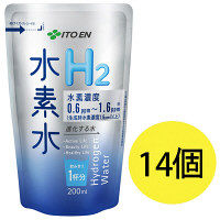 進化する水 水素水H2 200mL(アルミパウチタイプ) 1セット(14本) 伊藤園 水素水