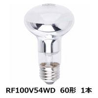 パナソニック 屋内用レフ電球 60W形 RF100V54WD 1個