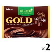 カバヤ ゴールドチョコレート 1セット(2袋入)