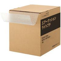 「現場のチカラ」プチプチ ライトプチ(R) 箱入 300mm×42m巻 半透明 1箱 川上産業