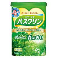 バスクリン 気分さわやか森の香り 600g(約30回分)