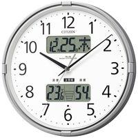 リズム時計(RHYTHM) CITIZEN(シチズン) インフォームナビF [電波 掛け 時計] 4FY618-019 1個 (直送品)