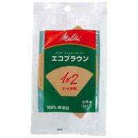 メリタジャパン エコブラウンポリバッグ 1×2サイズ PP-12GB 1袋(100袋入)