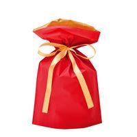 巾着袋 レッド 小 50P 1包(50枚)袋入【クリスマス】 (取寄品)