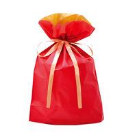 巾着袋 レッド 大 50P 1包(50枚)袋入【クリスマス】 (取寄品)