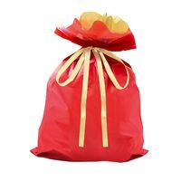 巾着袋 レッド 特大 50P 1包(50枚)袋入【クリスマス】 (取寄品)