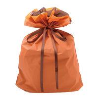 巾着袋 オレンジ 特大 50P 1包(50枚)袋入【クリスマス】 (取寄品)