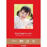 キヤノン マットフォトペーパー L判 MP-101L 1冊(50枚入) (取寄品)