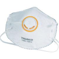TRUSCO(トラスコ中山) 使い捨て防塵 一般作業用マスク 活性炭入 排気弁付 10枚入 TMK10KV 286-8750 (取寄品)