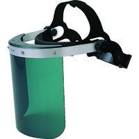 TRUSCO(トラスコ中山) 保護 遮光 耐衝撃 直かぶり型防災面 グリーン BMKG 1個 231-6072 (取寄品)