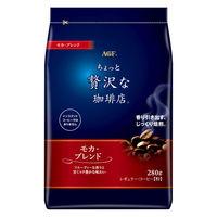 【コーヒー粉】AGF マキシム ちょっと贅沢な珈琲店 レギュラー・コーヒー モカ・ブレンド 1袋(320g)