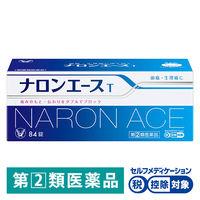 【指定第2類医薬品】ナロンエースT 84錠 大正製薬★控除★