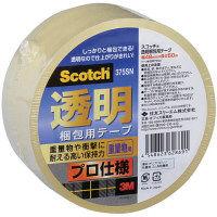 OPPテープ 透明梱包用テープ No.375SN 0.077mm厚 48mm×50m スコッチ(R) スリーエムジャパン 1巻