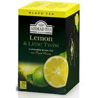 AHMAD レモン&ライム ティーバッグ