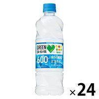 サントリー GREEN DA・KA・RA(グリーン ダカラ)(冷凍兼用ボトル)540ml 1箱(24本入)