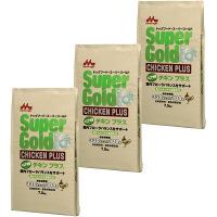 Super Gold(スーパーゴールド) ドッグフード チキンプラス シニア犬用 7.5kg 1セット(3袋) 森乳サンワールド