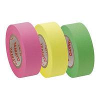 ヤマト 紙テープ メモックロールテープ 詰替え用 15mm幅 RK-15H-B 9個入(ローズ3個レモン3個ライム3個)