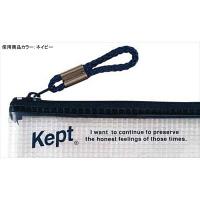 レイメイ藤井 ペンケース Kept クリア ネイビーKPF502K 2個(直送品)