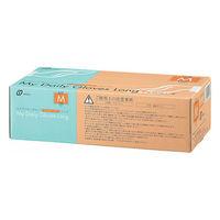 マイデイリーグローブパウダーフリーロングM 32003-013 1箱(100枚入) 原田産業 (使い捨て手袋)