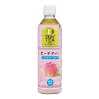 伊藤園 TEAS'TEA NEW AUTHENTIC ピーチティーwith グリーンティー 450ml 1セット(24本入)