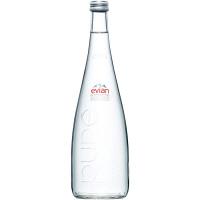 伊藤園 エビアン 瓶 750ml 1箱(12本入)