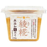 【LOHACO限定】綾糀(あやか) 十二割糀 無添加生みそ450g 1個 ひかり味噌