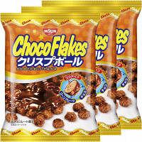 日清シスコ チョコフレーク クリスプボール 1セット(3袋入)