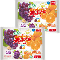 明治 果汁グミアソート 08609 1セット(2袋入)
