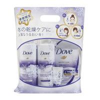 ダヴ(Dove) ウィンターケア シャンプー&コンディショナーお試しポンプ(各400g)+ボディウォッシュ詰め替え(360g)+洗顔ミニ(20g) ユニリーバ